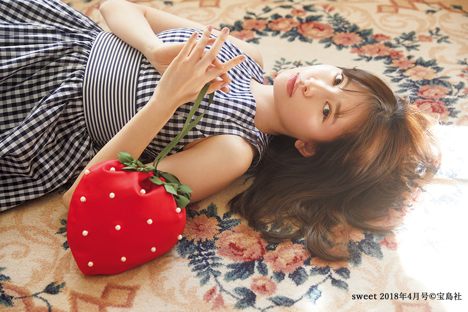 Strawberry Memory sweet4月号掲載アイテム