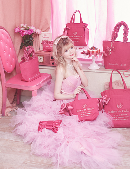 PINK MANIA (ピンクマニア)/Maison de FLEURのトートバッグ・ポーチ・チャーム